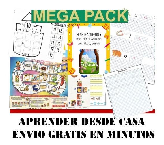 Kit Imprimible Actividades Niños En Casa Cuarentena 2020