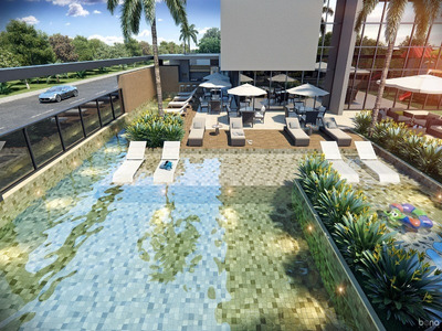 Apartamento 3 Dormitorios Construção Praia Brava. Entrega Em 2021 - 3d973 - 4320138