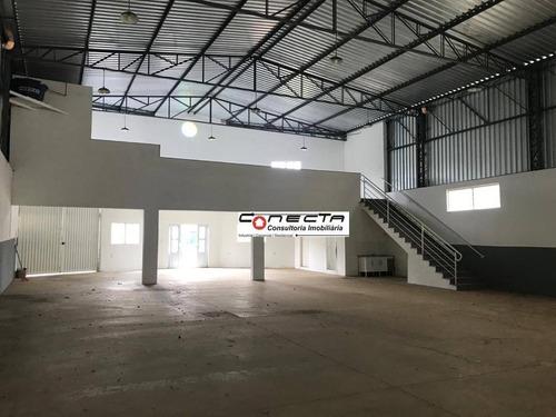 Imagem 1 de 10 de Galpão Para Alugar, 400 M² Por R$ 4.000,00/mês - Bosque Das Palmeiras - Campinas/sp - Ga1118