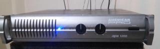 Potencia Ampli American Pro Apx 1200 Serie I 1280 Watt