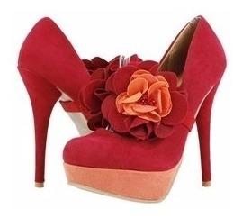 Zapatillas Importadas Promise Modelo Carnation Rojo