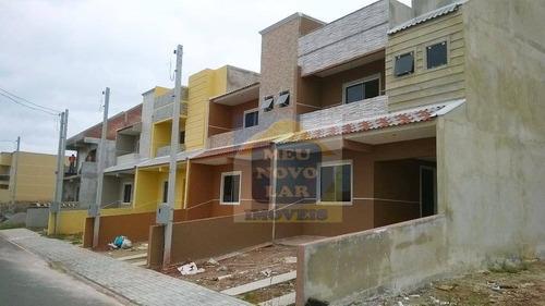 Sobrado Residencial À Venda, Tatuquara, Curitiba. - So0076