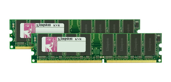 2 Memoria Ddr 1gb 400mhz Total 2gb Kingston Gtia Envios