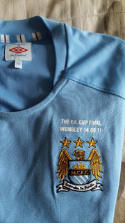Camisa Manchester City Fa Cup Final 2011