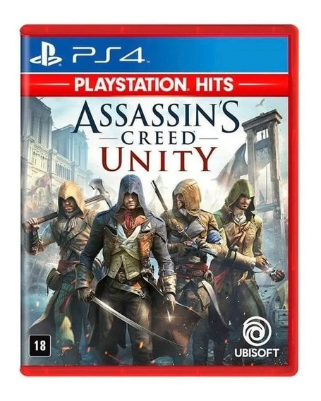 Assassins Creed Unity Ps4 Jogo Hits Lacradtso Original