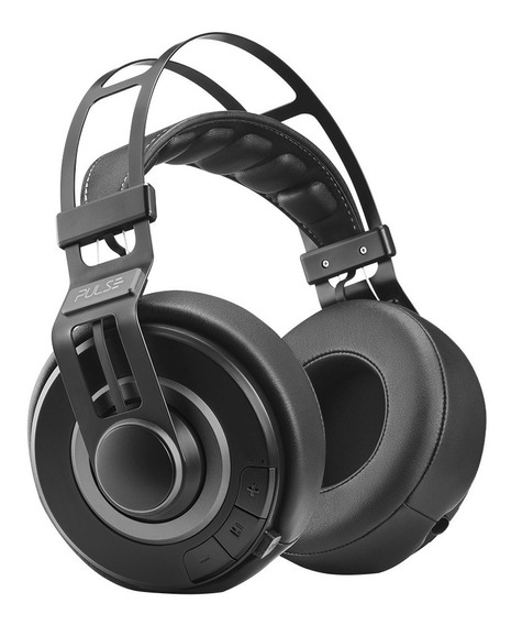 Fone De Ouvido Headphone Premium Bluetooth Preto Pulse