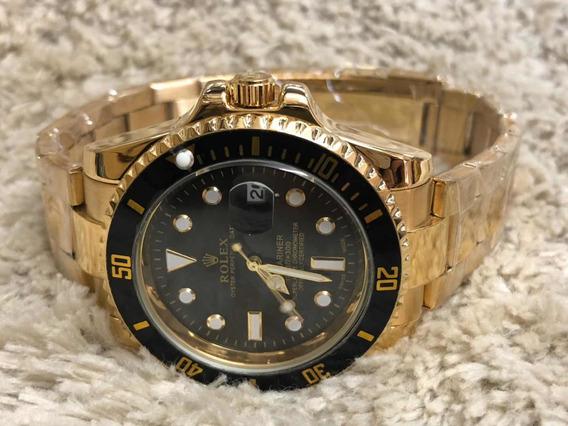 Relógio Masculino Rolex Submariner Com Caixa Rolex Simples