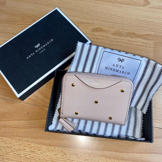 Monedero Anya Hindmarch Nuevo Rosa No Gucci Fendi Vuitton