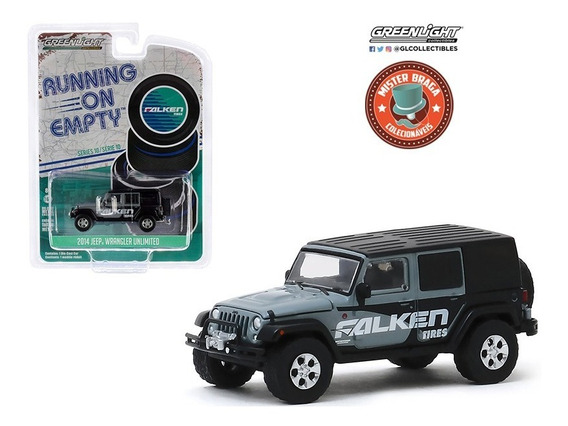 Jeep Wrangler Unlimited 2014 Falken Tires Greenlight 1/64