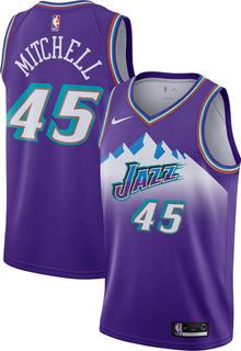 Camiseta Utah Jazz Donovan Mitchell Nba