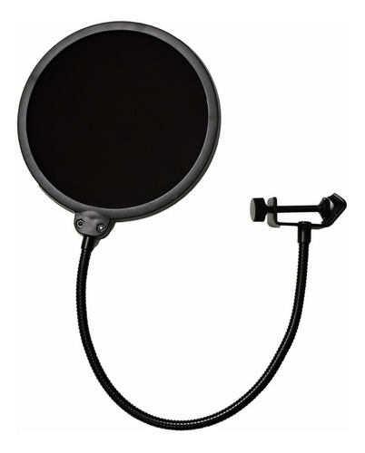 Pop Filter Arcano Am-f1 Para Estúdio Prendedor Universal
