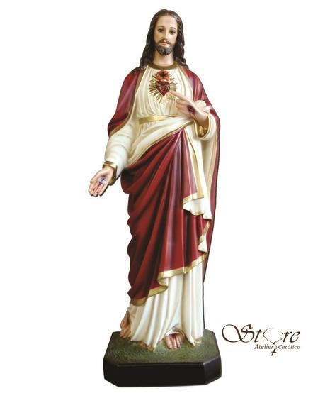 Sagrado Coração De Jesus 82 Cm