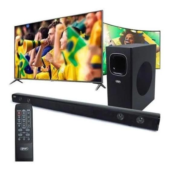 Sound Bar Kenup Bh6020 120w Bluetooth Óptico Smart Tv