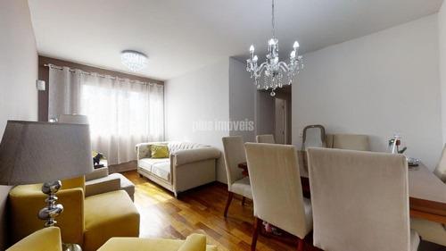 Excelente Apartamento No Moema 77m - Pj51416