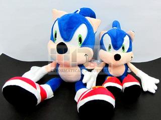Sonic The Hedgehog Peluche Sega 30cm Importado Local A Calle