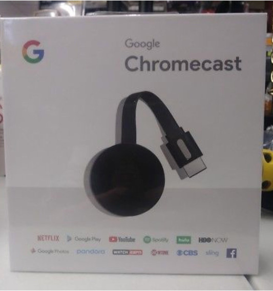 Google Chromecast 2nd Generacion (2018 Model) - Black - Nc2-
