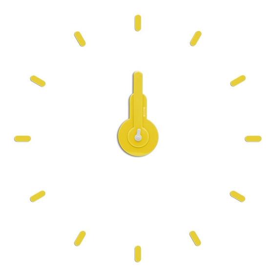 Reloj De Pared Para Armar On-time Colores Dee Gato