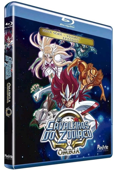 Os Cavaleiros Do Zodíaco - Ômega - Vol.2 - Blu-ray - Novo