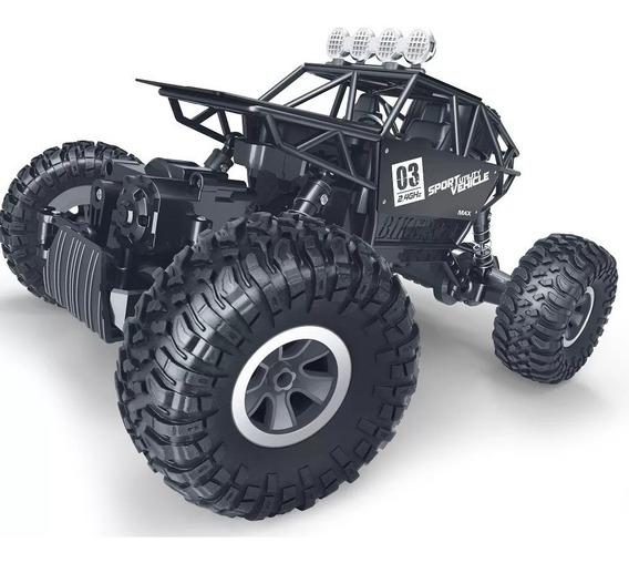Automodelo 4x4 Rock Crawler Carrinho Controle Remoto Bateria