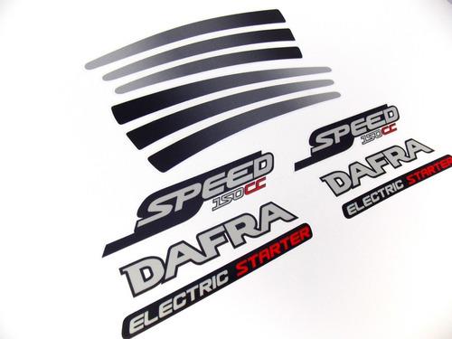 Kit Adesivos Dafra 150 2008 À 2009 Speed 10199