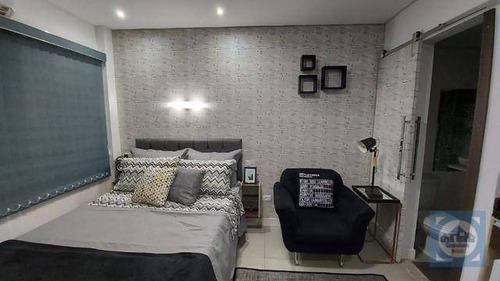 Kitnet Com 1 Dormitório À Venda, 18 M² Por R$ 155.000,00 - Centro - Santos/sp - Kn0652