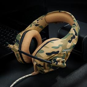 Fone De Ouvido P Jogos Gta Guerra Gaming Ps4 Com Mic