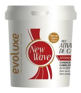 Creme Ativador De Cachos New Wave Evoluxe 980g