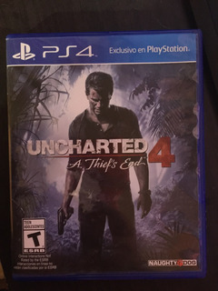 Juego De Play Station 4. Uncharted 4 A Thief