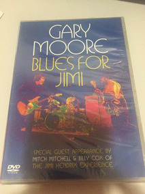 Dvd Gary Moore Blues For Jimi Lacre Fábrica,novo, Raro