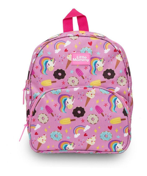 Mochila Infantil Niños Impermeable Little Mommy Candy