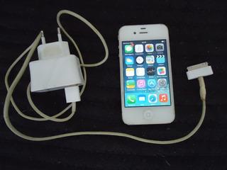 Celular, iPhone A1332 Md198br/a Com Carregador