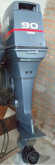 Motor Yamaha 90 2t Usado