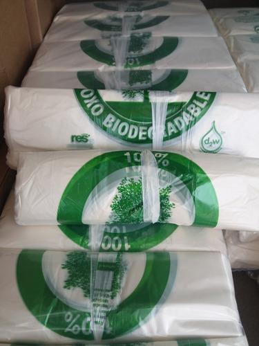 Bolsas Camisetas Biodegradables Para Feria 40x50x12