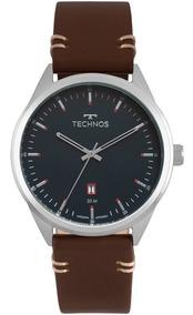 Relógio Technos Masculino Prateado Classic Steel 2115msc/0a