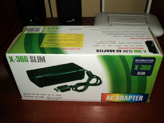 Cargador Adaptador Fuente De Poder Xbox 360 220v Nuevo
