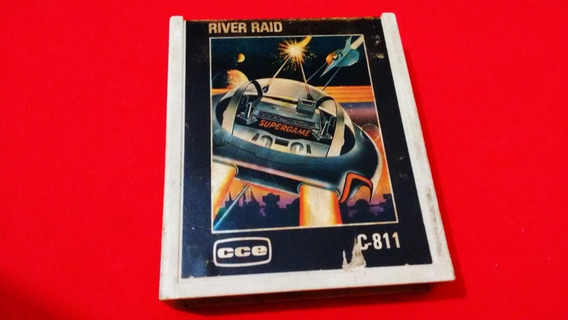 River Raid Atari 2600 Original Cce Funcionando