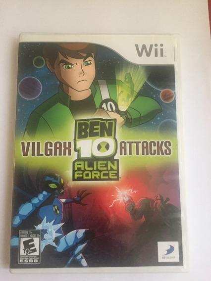 Jogo Do Wii Ben 10 Alien Force Vilgak Attacks