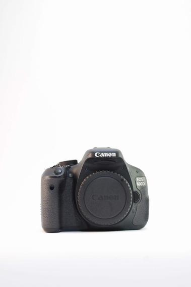 Câmera Canon 600d (t3i)