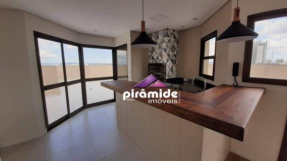 Cobertura Com 3 Dormitórios À Venda, 439 M² Por R$ 2.100.000,00 - Jardim Aquarius - São José Dos Campos/sp - Co0136
