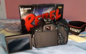 Corpo Câmera Canon T5i (cortina Travada)