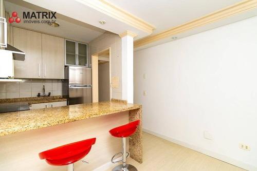 Apartamento Com 1 Dormitório À Venda, 25 M² Por R$ 198.000,00 - Centro Cívico - Curitiba/pr - Ap6525