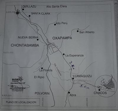 Venta De Terreno Cultivable En Oxapampa