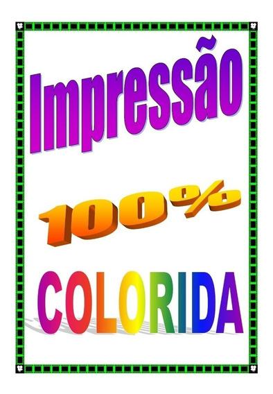 Impressão Apostila A5 #108 Pág (100% Colorida)