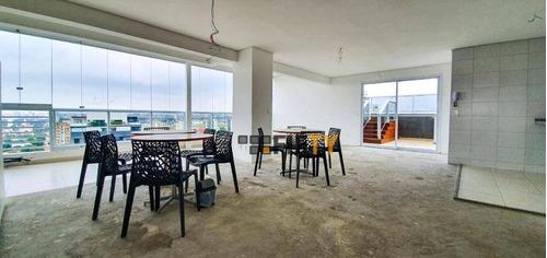 Cobertura À Venda, 140 M² Por R$ 1.960.000,00 - Campo Belo - São Paulo/sp - Co1896