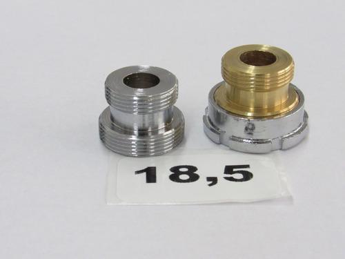 Imagen 1 de 1 de Adaptador Bronce Diámetro 18.5 Mm