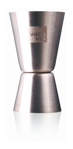 Imagen 1 de 4 de Vaso De Medir -double Jigger Vacu Vin