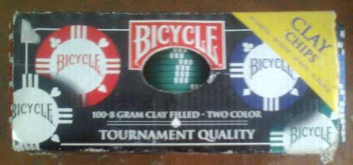 Fichas De Poker Bicycle