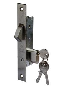 Cerradura Pico De Loro Cisa 16mm - Cilindro Medio