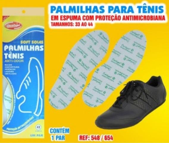 Kit 3 Pares- Palmilha De Tenis Anti Odor Espuma Eva Especial