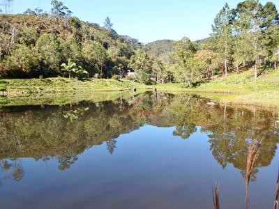 Chácara Com Lago Nascente 15.100 M² Casa Com 3 Quartos